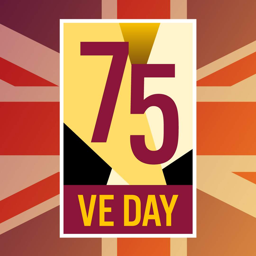 Village VE Day celebrations